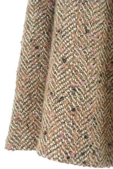 JILL by JILLSTUART(ジルバイジルスチュアート)の古着「膝下丈ヘリンボーン柄起毛スカート(ロングスカート・マキシスカート)」大画像5へ