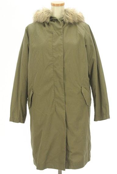 SM2(サマンサモスモス)の古着「ボアライナー付きモッズコート(コート)」大画像1へ