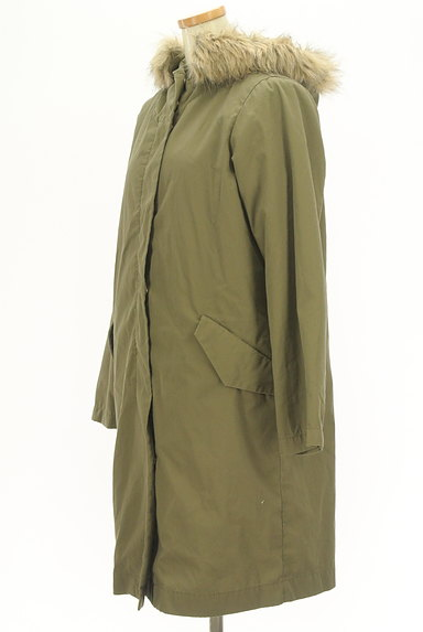SM2(サマンサモスモス)の古着「ボアライナー付きモッズコート(コート)」大画像3へ