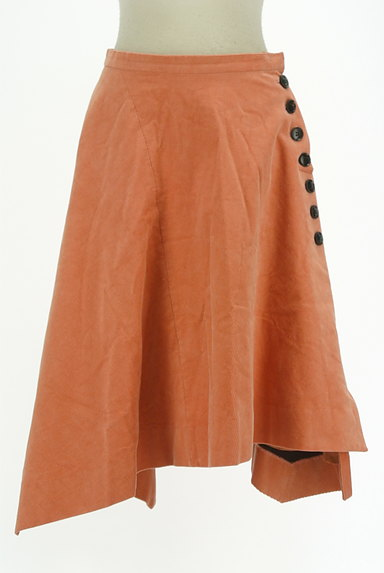 Chesty(チェスティ)の古着「アシンメトリーコーデュロイスカート(スカート)」大画像1へ