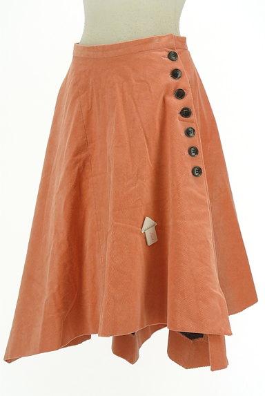 Chesty(チェスティ)の古着「アシンメトリーコーデュロイスカート(スカート)」大画像4へ