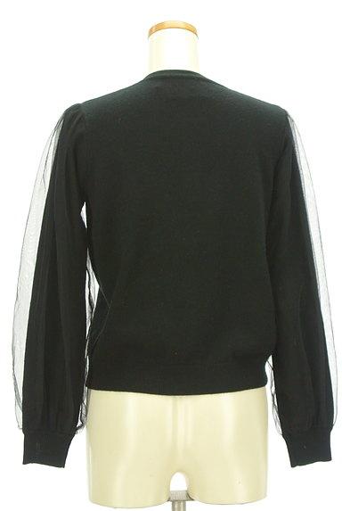 Chesty(チェスティ)の古着「チュール袖キラキラ装飾カーディガン(カーディガン・ボレロ)」大画像2へ