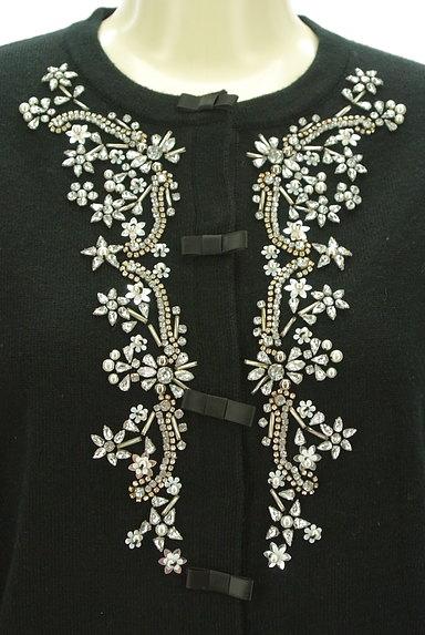 Chesty(チェスティ)の古着「チュール袖キラキラ装飾カーディガン(カーディガン・ボレロ)」大画像4へ