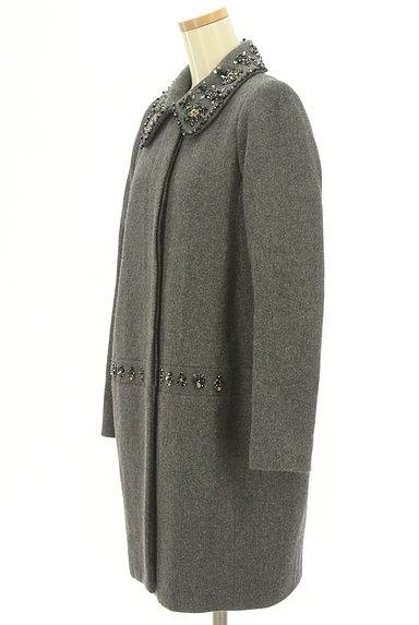 Chesty(チェスティ)の古着「ビジュー装飾コクーンコート(コート)」大画像3へ