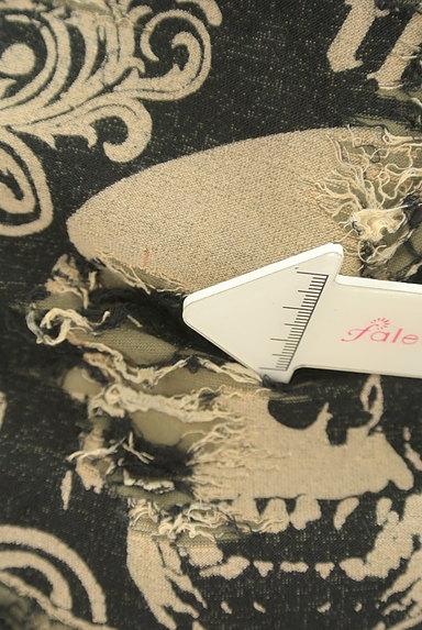 Deorart(ディオラート)の古着「スカルプリントアシメダメージTシャツ(Tシャツ)」大画像5へ