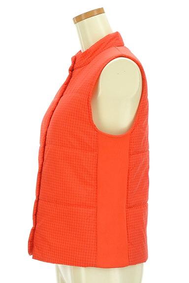 CHILD WOMAN(チャイルドウーマン)の古着「チェック柄中綿入りベスト(ブルゾン・スタジャン)」大画像3へ