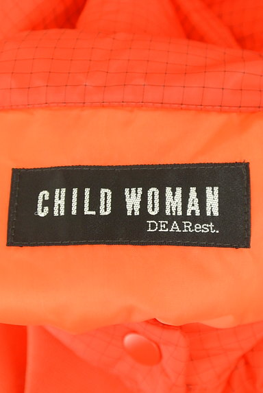 CHILD WOMAN(チャイルドウーマン)の古着「チェック柄中綿入りベスト(ブルゾン・スタジャン)」大画像6へ