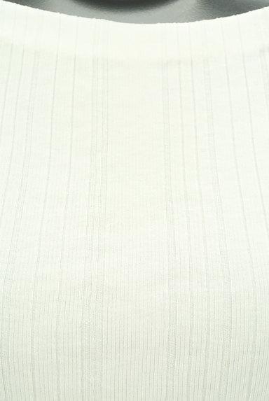 BEAUTY&YOUTH(ビューティ&ユース)の古着「ボートネック五分袖リブカットソー(ニット)」大画像4へ