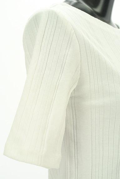 BEAUTY&YOUTH(ビューティ&ユース)の古着「ボートネック五分袖リブカットソー(ニット)」大画像5へ