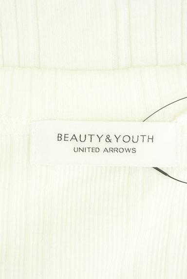 BEAUTY&YOUTH(ビューティ&ユース)の古着「ボートネック五分袖リブカットソー(ニット)」大画像6へ