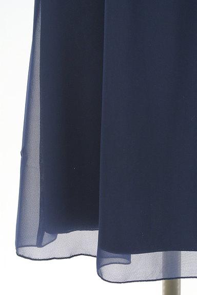 ef-de(エフデ)の古着「フリルシフォン膝丈ワンピース(ワンピース・チュニック)」大画像5へ
