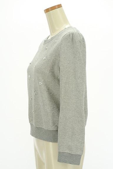SunaUna(スーナウーナ)の古着「装飾スウェットトップス(スウェット・パーカー)」大画像3へ