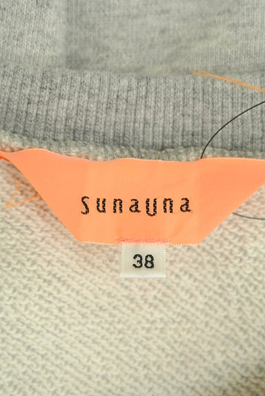 SunaUna(スーナウーナ)の古着「装飾スウェットトップス(スウェット・パーカー)」大画像6へ
