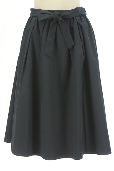 SunaUna(スーナウーナ)の古着「無地×ストライプリバーシブルスカート(スカート)」大画像1へ