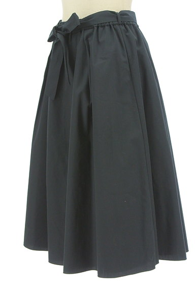 SunaUna(スーナウーナ)の古着「無地×ストライプリバーシブルスカート(スカート)」大画像3へ