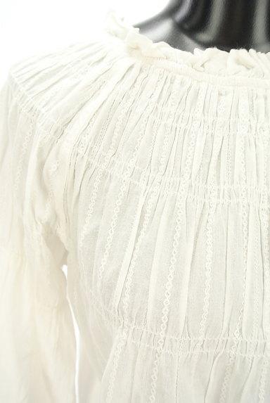 Par Avion(パラビオン)の古着「花刺繍入りフレアスリーブブラウス(カットソー・プルオーバー)」大画像4へ