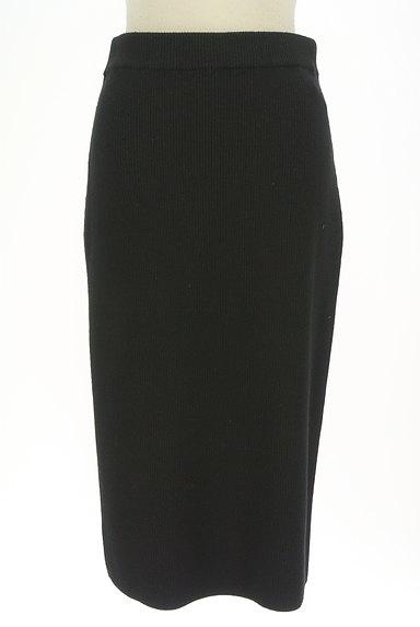 BOSCH(ボッシュ)の古着「膝下丈リブニットタイトスカート(ロングスカート・マキシスカート)」大画像1へ