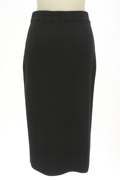 BOSCH(ボッシュ)の古着「膝下丈リブニットタイトスカート(ロングスカート・マキシスカート)」大画像2へ