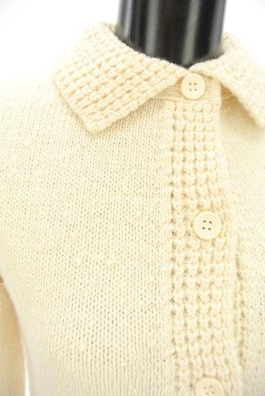 DO!FAMILY(ドゥファミリー)の古着「凹凸織地切替カーディガン(カーディガン・ボレロ)」大画像4へ