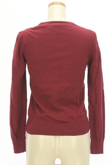 NATURAL BEAUTY BASIC(ナチュラルビューティベーシック)の古着「半袖ニット+カーディガン(アンサンブル)」大画像2へ