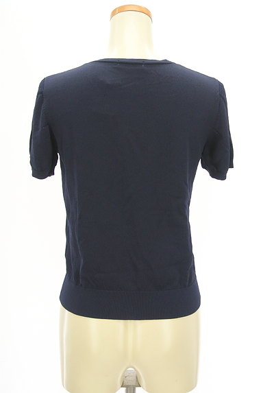 Te chichi(テチチ)の古着「シンプル半袖カーディガン(カーディガン・ボレロ)」大画像2へ