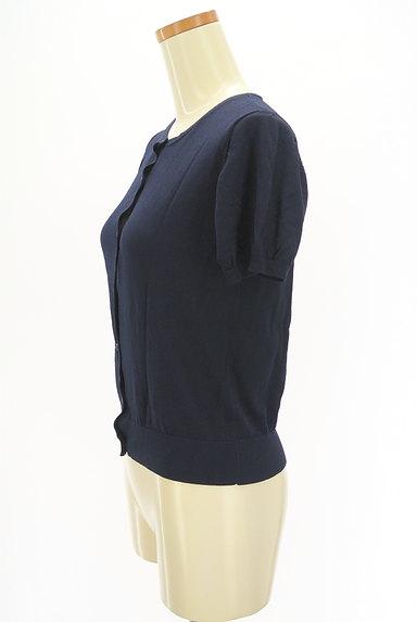 Te chichi(テチチ)の古着「シンプル半袖カーディガン(カーディガン・ボレロ)」大画像3へ