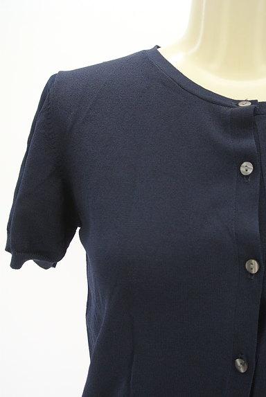 Te chichi(テチチ)の古着「シンプル半袖カーディガン(カーディガン・ボレロ)」大画像4へ