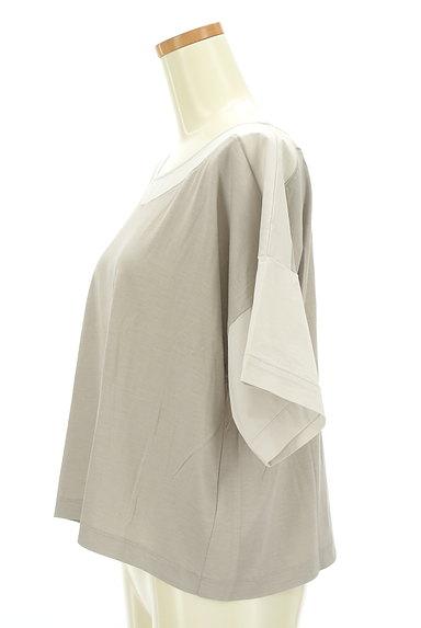BEATRICE(ベアトリス)の古着「ドロップショルダーワイドカットソー(カットソー・プルオーバー)」大画像3へ
