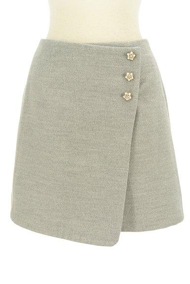 LODISPOTTO(ロディスポット)の古着「ラップ風飾りボタン付きミニスカート(ミニスカート)」大画像1へ