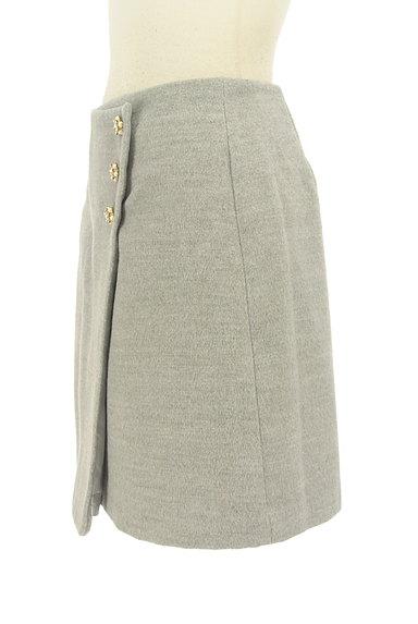 LODISPOTTO(ロディスポット)の古着「ラップ風飾りボタン付きミニスカート(ミニスカート)」大画像3へ