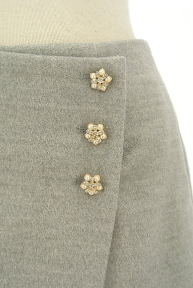 LODISPOTTO(ロディスポット)の古着「ラップ風飾りボタン付きミニスカート(ミニスカート)」大画像4へ
