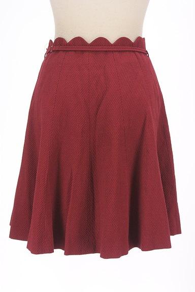 WILLSELECTION(ウィルセレクション)の古着「ベルト付きスカラップミニフレアスカート(ミニスカート)」大画像2へ