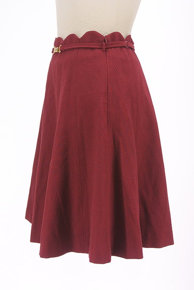 WILLSELECTION(ウィルセレクション)の古着「ベルト付きスカラップミニフレアスカート(ミニスカート)」大画像3へ