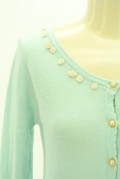 LODISPOTTO(ロディスポット)の古着「花刺繍カーディガン(カーディガン・ボレロ)」大画像4へ