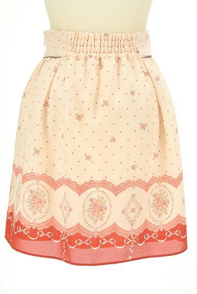 LODISPOTTO(ロディスポット)の古着「ドット×花柄シフォンミニスカート(ミニスカート)」大画像2へ