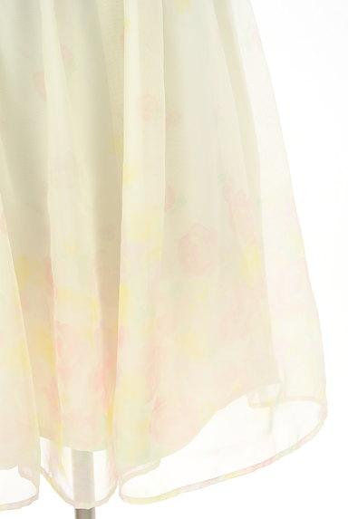 LODISPOTTO(ロディスポット)の古着「花柄シアー膝丈フレアワンピース(ワンピース・チュニック)」大画像5へ