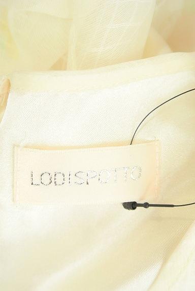 LODISPOTTO(ロディスポット)の古着「花柄シアー膝丈フレアワンピース(ワンピース・チュニック)」大画像6へ