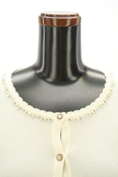 LODISPOTTO(ロディスポット)の古着「装飾ネックラインカーディガン(カーディガン・ボレロ)」大画像4へ