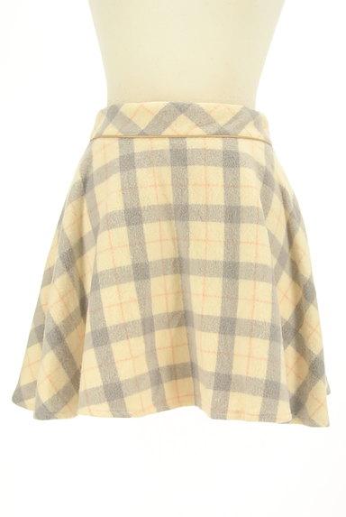 LODISPOTTO(ロディスポット)の古着「チェック柄ミニフレアスカート(ミニスカート)」大画像1へ