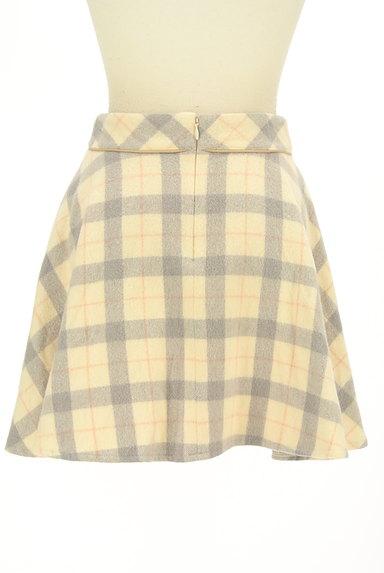 LODISPOTTO(ロディスポット)の古着「チェック柄ミニフレアスカート(ミニスカート)」大画像2へ