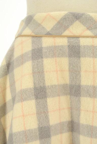 LODISPOTTO(ロディスポット)の古着「チェック柄ミニフレアスカート(ミニスカート)」大画像4へ
