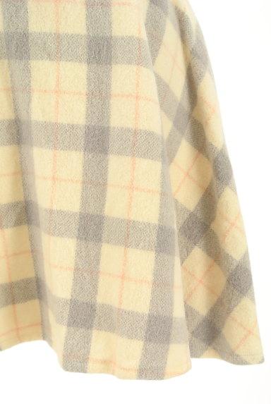 LODISPOTTO(ロディスポット)の古着「チェック柄ミニフレアスカート(ミニスカート)」大画像5へ
