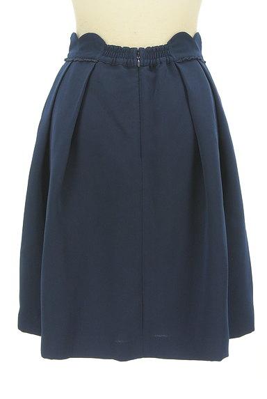 LODISPOTTO(ロディスポット)の古着「スカラップ膝丈タックフレアスカート(スカート)」大画像2へ