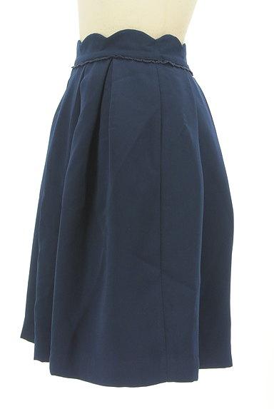 LODISPOTTO(ロディスポット)の古着「スカラップ膝丈タックフレアスカート(スカート)」大画像3へ