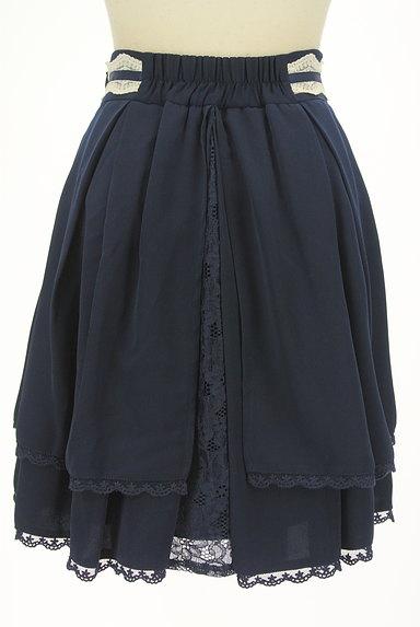 LODISPOTTO(ロディスポット)の古着「レース付きタックフレアスカート(ミニスカート)」大画像2へ