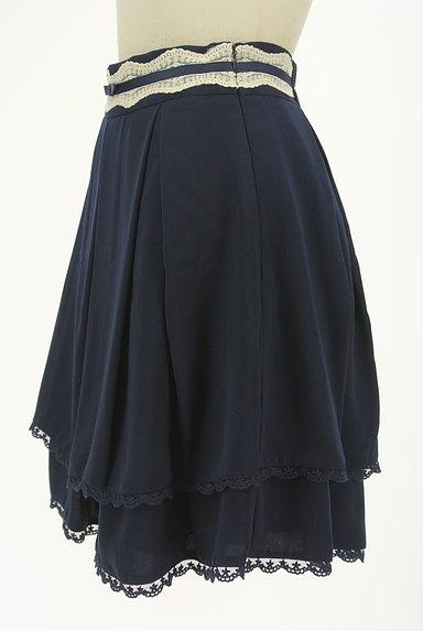 LODISPOTTO(ロディスポット)の古着「レース付きタックフレアスカート(ミニスカート)」大画像3へ