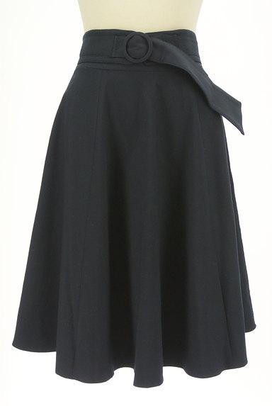 MISCH MASCH(ミッシュマッシュ)の古着「ベルト付き膝下丈フレアスカート(スカート)」大画像1へ