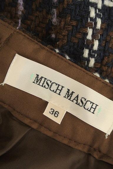 MISCH MASCH(ミッシュマッシュ)の古着「ビット付きチェック柄ラップ風ミニスカート(ショートパンツ・ハーフパンツ)」大画像6へ