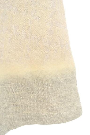 LAUTREAMONT(ロートレアモン)の古着「刺繍風織地膝下丈起毛ワンピース(ワンピース・チュニック)」大画像5へ