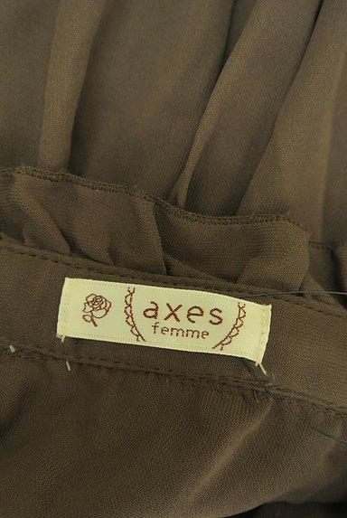 axes femme(アクシーズファム)の古着「ウエスト切替フレアブラウス(ブラウス)」大画像6へ